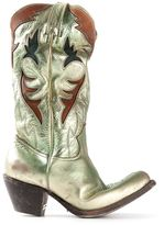 Golden Goose Deluxe Brand laminated cowboy boots
