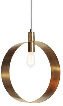 Everly Quinn Bellflower 1 - Light Single Geometric Pendant