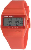 Miss Sixty SIC003 36x40mm Rubber Case Red Rubber Mineral Men's Watch