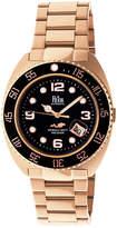 Reign Unisex Rose Goldtone Bracelet Watch-Reirn4903