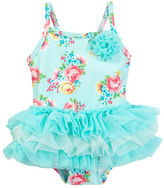Little Me Multi Floral One-Piece Swimsuit (Baby Girls)