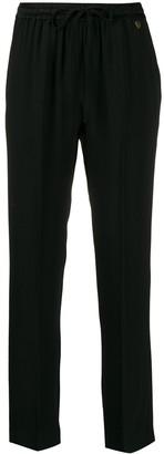 Twin-Set drawstring trousers