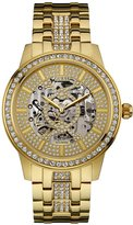 GUESS Gold-Tone Automatic Analog Watch