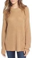 BP Women's Side Buckle Knit Pullover