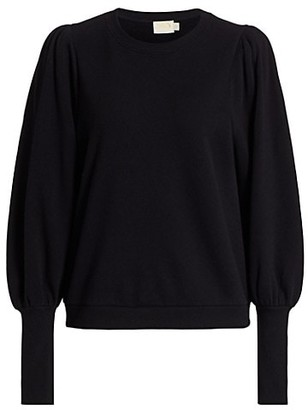 Nation Ltd. Bethany Puff-Sleeve Sweatshirt
