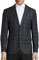 Haight And Ashbury Classic-Fit Northwood Plaid Wool Sports Jacket