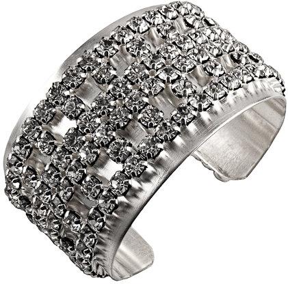 Mixology NYC Silver Dubai Glamazon Cuff