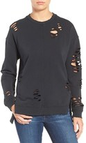 Joe's Jeans Women's Lyndon Ripped Pullover