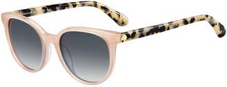 Kate Spade Melanies Round Acetate Sunglasses