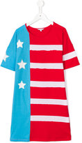 Little Marc Jacobs stars and stripes dress - kids - Cotton/Modal - 14 yrs