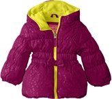 "Pink Platinum Little Girls' Toddler ""Frosted Hearts"" Jacket"