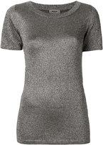 Missoni metallic effect T-shirt