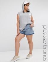 Missguided Plus Denim Shorts