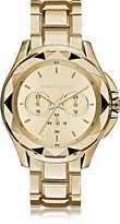 Karl Lagerfeld 7 Iconic Unisex Golden Chronograph Watch