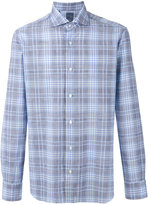 Barba long sleeve plaid shirt - men - Cotton - 39