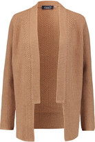 Magaschoni Ribbed wool and cashmere-blend cardigan