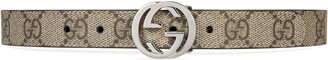 Gucci Children's GG hearts belt