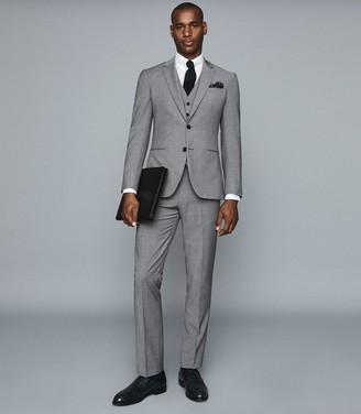 Reiss Pray - Slim Fit Travel Waistcoat in Grey