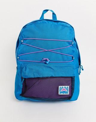 Vans Old Skool Plus ii backpack in blue