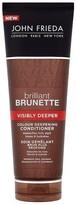 John Frieda Brilliant Brunette Visibly Deeper Cond 250ml