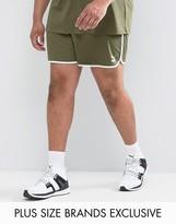 Puma Plus Retro Mesh Shorts In Green Exclusive To Asos