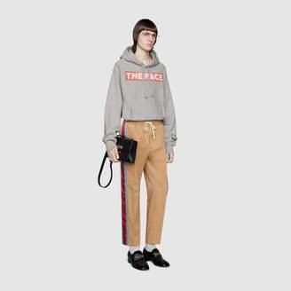 Gucci Band print hooded sweatshirt