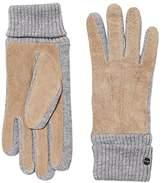 Esprit Women's 116EA1R002 Gloves, Beige (Khaki Beige)