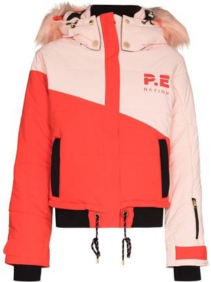 P.E Nation Amplitude hooded ski jacket