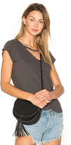 LnA V Maya Tee in Charcoal. - size S (also in )
