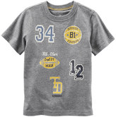 Carter's Baby Boy Athletic Applique Patch Tee