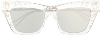 Jimmy Choo Crystal-Embellished Sunglasses