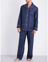 Derek Rose Otis Silk Pyjama Set