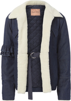 Maggie Marilyn Made For Greatness Denim Quilted Jacket