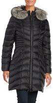 Dawn Levy Nola Fox Fur-Trim Down Puffer Coat