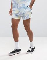 Jaded London Shorts In Hawaiian Print