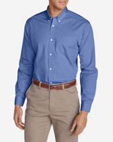 Eddie Bauer Men's Wrinkle-Free Slim-Fit Pinpoint Oxford Shirt - Solid