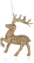 Bloomingdale's Glitter Reindeer Ornament