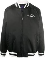 Carhartt Wip Motown graphic-pattern bomber jacket