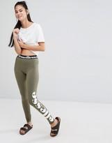 Ellesse Leggings With Side Logo Print