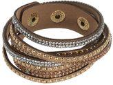 Mudd Studded Rhinestone Wrap Bracelet