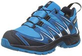 Salomon XA Pro 3D CSWP Trail Running/ Outdoor Shoes, Blue, Synthetic/Textile, Blue, Size: 31