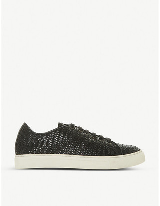 Bertie Endeavore leather trainers