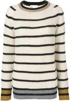 8pm Striped Crewneck Sweater