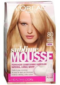 L'Oreal Sublime Hair Color, Golden Dark Blonde