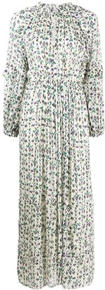 Etoile Isabel Marant Abstract Print Maxi Dress