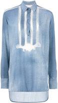 Ermanno Scervino stripes detail shirt - women - Viscose - 44