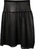 Issey Miyake see through skirt