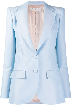 Philosophy di Lorenzo Serafini Fitted Single-Breasted Blazer