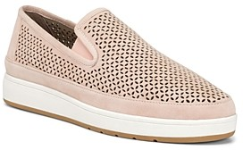 Donald J Pliner Women's Maddox Perforated Suede Slip-On Sneakers
