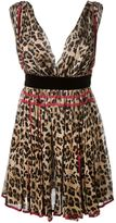 DSQUARED2 leopard print dress - women - Silk/Polyamide/Viscose - 38